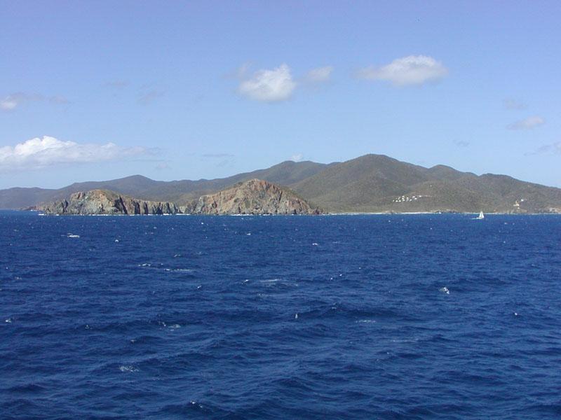 Westernmost of the Virgin Islands Crossword Clue